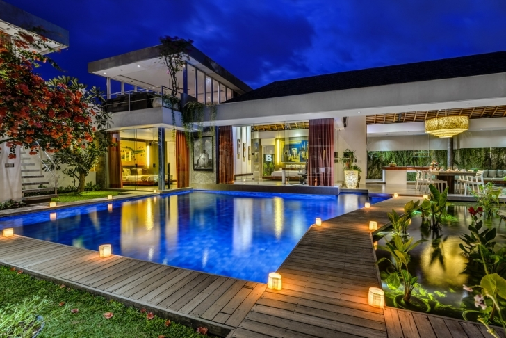 Popular 1, 2, 3, 4 & 5 Bedroom Villas For Rent In Bali | Bali Villa Escapes 4 Bedroom Villa In Seminyak Image