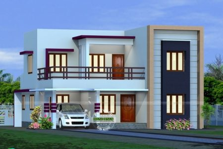 Flat House Design Images