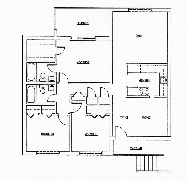 Popular 3 Bedroom House Plans India (Photos And Video) | Wylielauderhouse 3 Bedroom House Plan In India Image