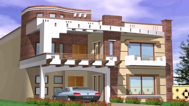 Popular 5 Marla Double Story House Design In Pakistan - Youtube Double Story House Designs In Pakistan Picture