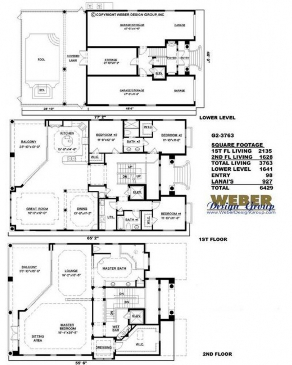 Popular Amazingplans House Plan #g2-3763 Ashley - Luxury, Spanish G 2 Residential Building Plan Picture