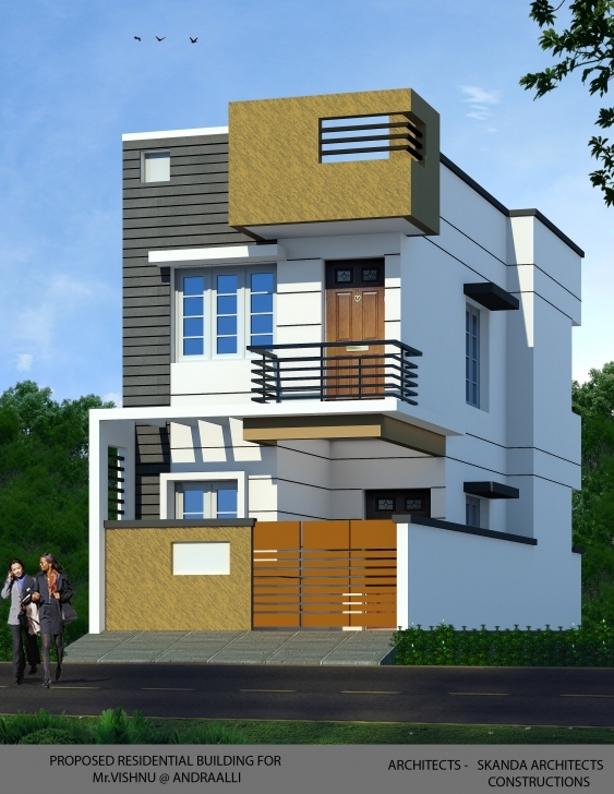 Popular Duplex House At Andrahalli, Bangalore – Skandaconstructions 15 By 40 Home Images Image
