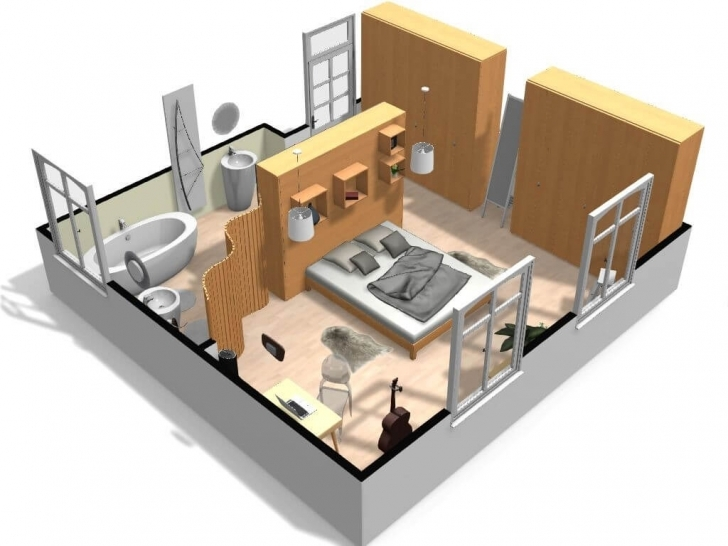 Popular Free And Online 3D Home Design Planner - Homebyme 3d House Planner Photo