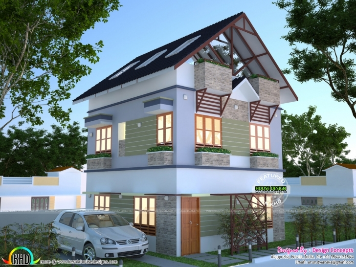 Popular House Plan For 2 Cent | Kerala Home Design | Bloglovin' 2 Cent House Images Picture