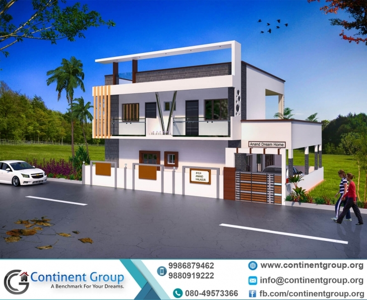 Popular Project Gallery-Building Elevation-3D Floor Plan-Interior Design Duplex House Front Elevation Designs In Bangalore Pic