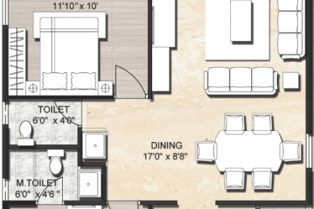 Indian House Floor Plans For 1200 Sq Ft