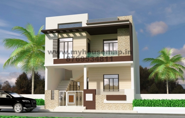Remarkable Duplex House Front Elevation Designs Pictures Images 2018 Also Duplex House Front Elevation Designs In Chennai Pic