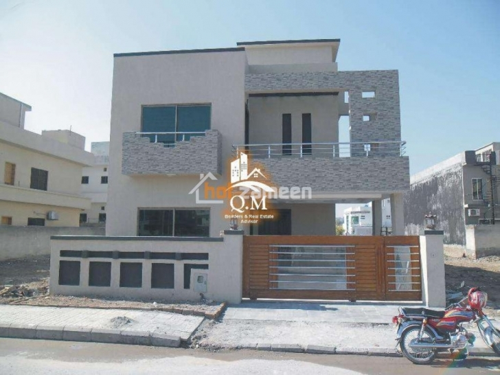 Remarkable Q.m Builders Luxurious Double Storey Kanal Size House Dha 2 Double Story House Designs In Pakistan Photo