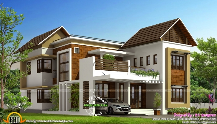 Remarkable Stylish Trendy House Plan Kerala Home Design And Floor Plans Fall Modern Stylish House Plans Image