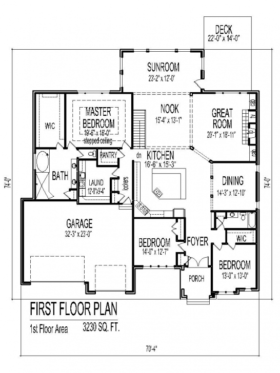 Remarkable Tuscan House Floor Plans Single Story 3 Bedroom 2 Bath 2 Car Garage Simple House Plan With 3 Bedrooms And Garage Pic
