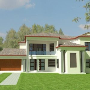 African House Plan