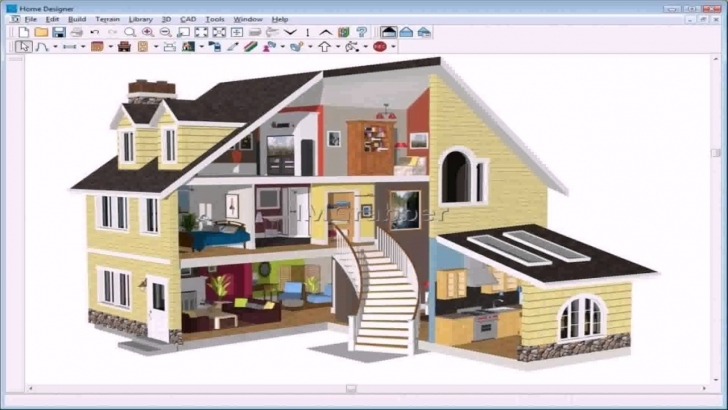 Splendid 3D House Design App Free Download - Youtube 3d House Planner Free Image