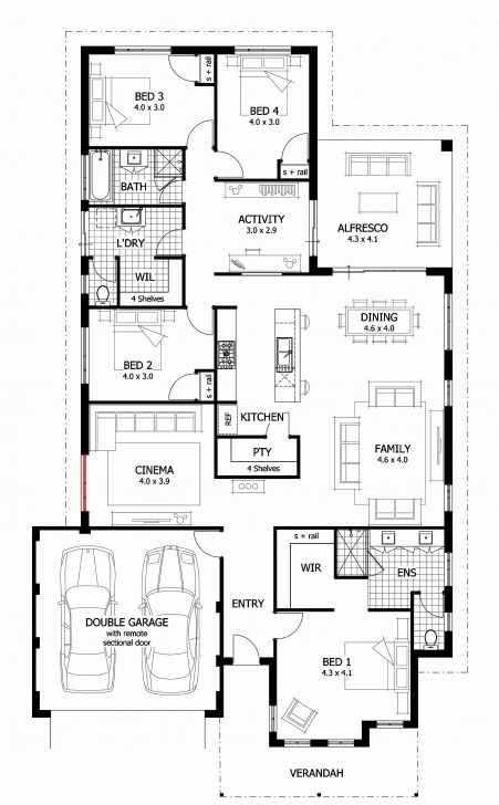 Splendid 5 Bedroom Duplex Plan New 4 Bedroom Duplex House Plans 5 Bedroom Duplex House Plans Nigeria Photo