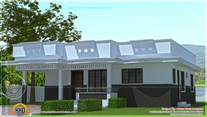 Splendid Architectures : Bedroom House Plans In Kerala Single Floor Story Contemporary House Designs Kerala Style Single Floor Picture