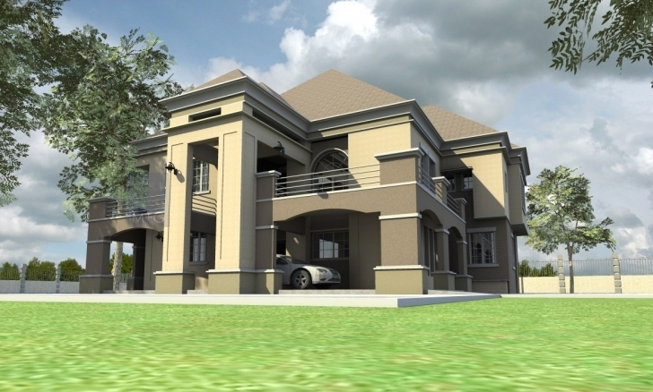Splendid Contemporary Nigerian Residential Architecture Buildings - Building House Building Plan In Nigeria Photo