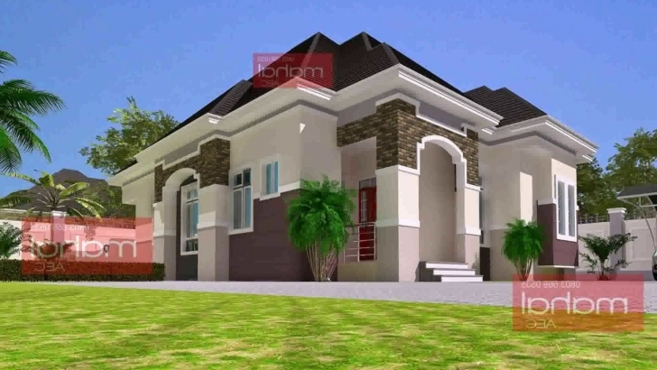 Stunning 3 Bedroom Bungalow House Plans In Nigeria - Youtube Three Bedroom Bungalow House In Nigeria Image