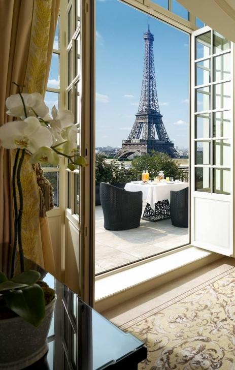 Stunning 3 Paris Hotels With Eiffel Tower View | Paris Hotels, Tower And Vacation Three Bedroom Flat With Eiffel Tower Views Image
