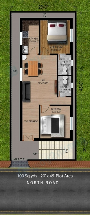 Stunning 44 Pictures Of 20X50 House Plan For House Plan | Cottage House Plans 20 X 50 House Plans North Facing Pic