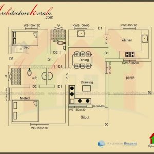 Below 1000 Sq Ft House Plans Indian Style