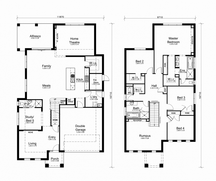 Stunning Double Story House Plan South Africa Beautiful Double Storey House Double Story House Plan In South Africa Pic