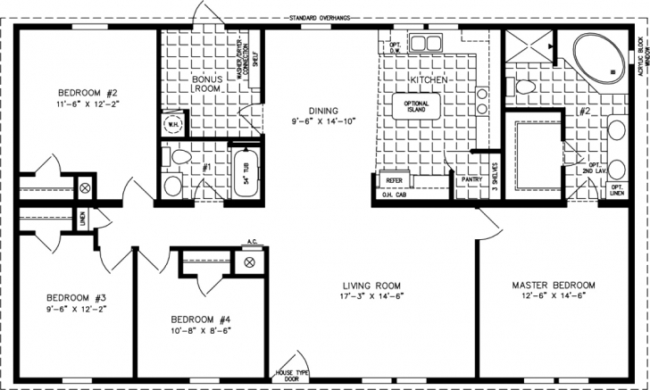 Stunning House Plan 1800 Square Foot House Plans 4 Bedrooms Homes Zone 1600 Sqft 4 Bedroom House Plans Photo