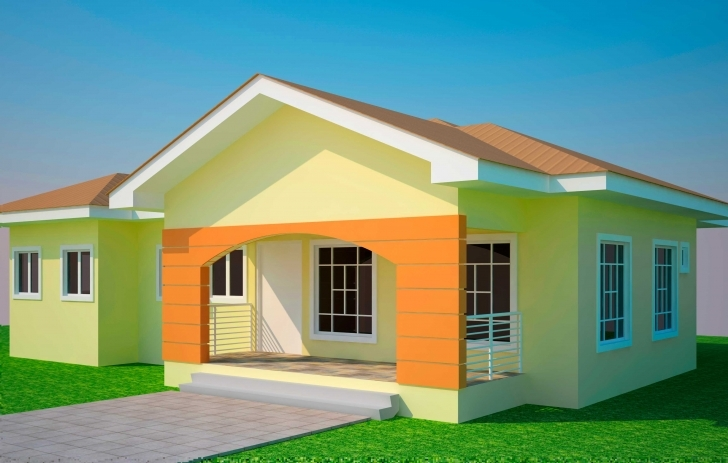 Stunning House Plans Ghana Bedroom Plan - Building Plans Online | #77999 Simple House Designs In Ghana Image