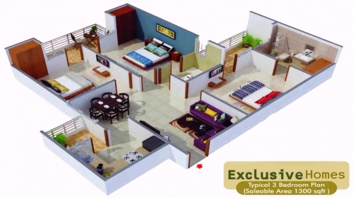 Stunning House Plans In 1000 Sq Ft Indian Style - Youtube 2 Bedroom House Plans Indian Style 1200 Sq Feet Image