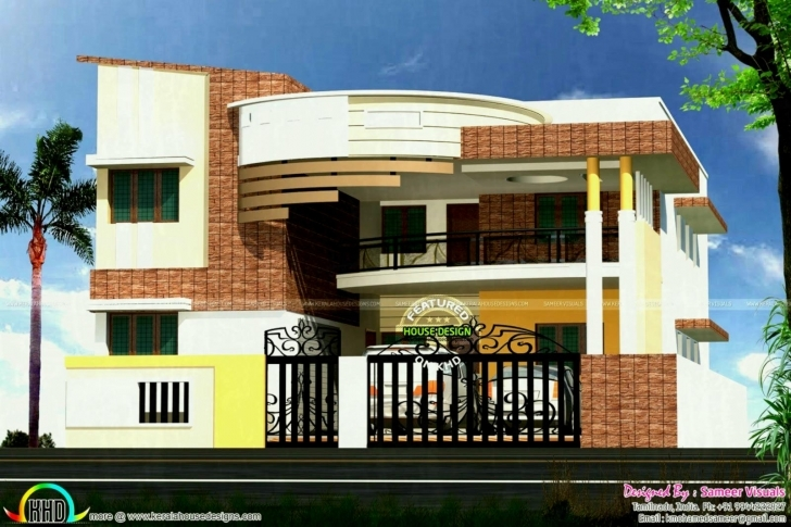Stunning Plan House Plans South Indian Style Traditional For Homes ~ Home Traditional South Indian House Designs Picture