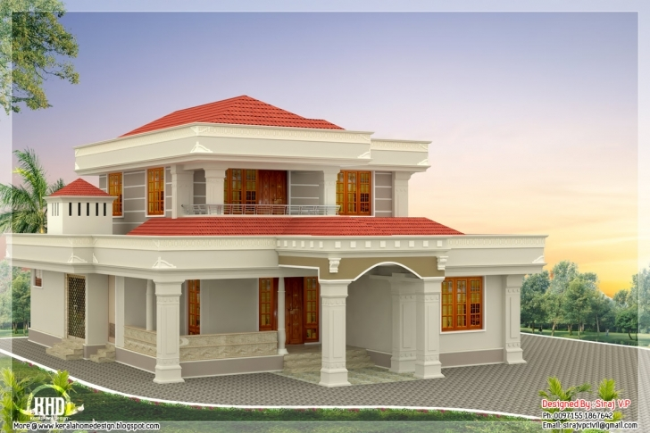 Top Adorable House Designs With Beautiful House Plans With Photos In Beautiful House Plans With Photos In India Picture