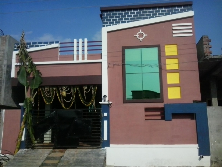 Top Beautiful Elevation For Single Floor Home Gharexpert, Indian Single Single Floor House Front Elevation Designs In Hyderabad Pic