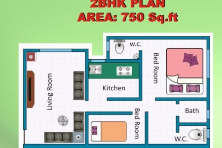 Indian House Plans For 750 Sq Ft