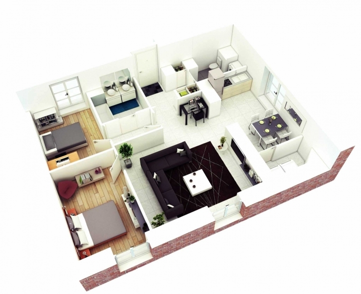 Top Indulging In Shree Vardhman Ideas With Charming 800 Sq Ft House 800 Sq Ft House Plans 3 Bedroom 3d Picture