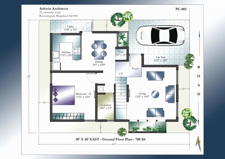 Top Photo of 2 Bedroom House Plan East Facing Beautiful 1000 Sq Ft House Plans 2 2 Bedroom House Plans Indian Style East Facing Image
