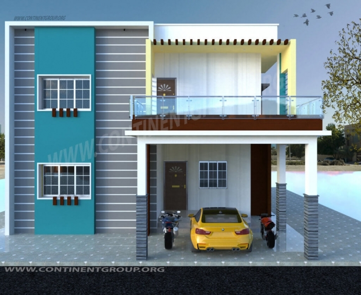 Top Photo of 3D Building Elevation-3D Front Elevation - Continent Group Best Elevations Of Buildings Picture