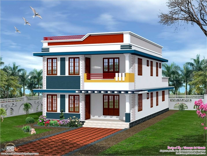 Top Photo of 3D Building Elevation Designs For Single Floor Ideas Ground House Building Front Design Single Floor Photo