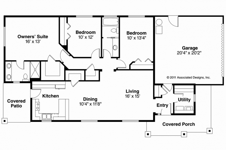 Top Photo of 4 Bedroom Rectangular House Plans New Simple Square Floor Throughout Rectangular 4 Bedroom House Plans Image