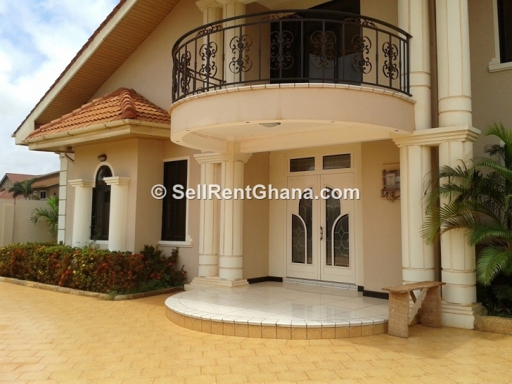 Top Photo of 5 Bedroom Detached Mansion For Sale | Sellrent Ghana House Designs In Accra Ghana Pic
