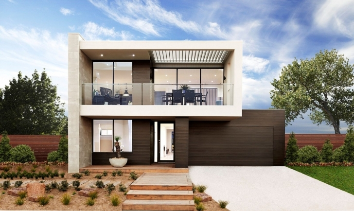 Top Photo of Home Architecture: Coastal Home Designs In Melbourne Boutique Homes Double Story House Plans Melbourne Pic