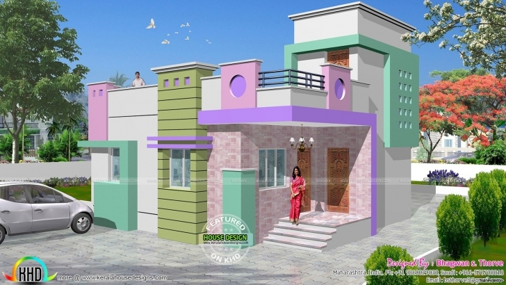 Top Photo of Indian Single Floor Home Front Design Fresh On Wonderful Simple One Indian House Design Front View Single Floor Photo