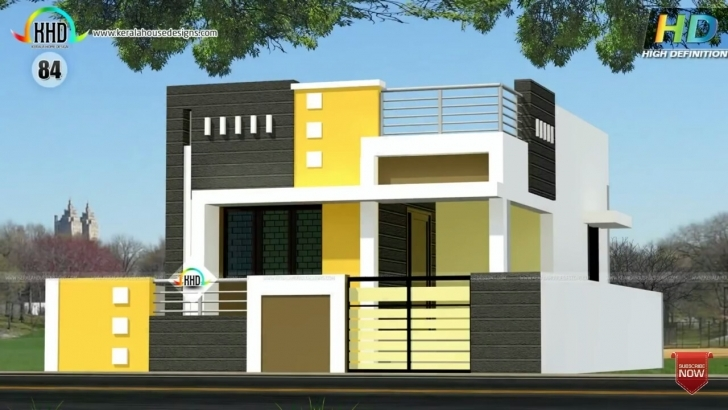 Top Photo of Inspirations: Home Elevation Design For Ground Floor 2017 Including Ground Floor Elevation Models Photo