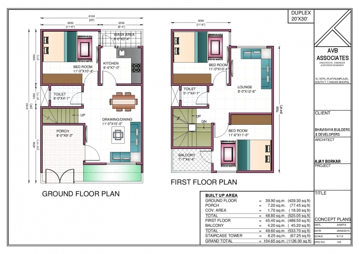 Top Photo of Majestic Looking 750 Square Feet Duplex House Plans 3 600 Sq Ft 750 Sq Ft House Plans East Facing Picture