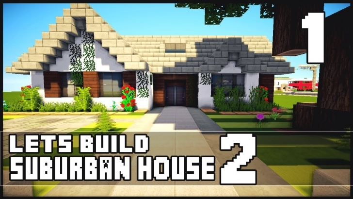 Top Photo of Minecraft Let's Build: Small Suburban House 2 - Part 1 - Youtube Minecraft Simple House Keralis Pic
