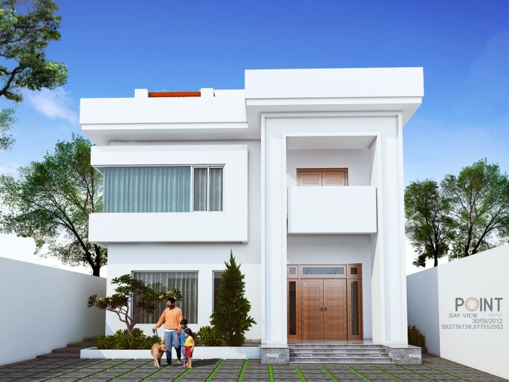 Top Photo of Modern House Front View Design - Homes Floor Plans Beautiful House Design Front View Picture