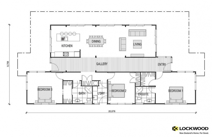 Top Photo of Pavilion - House Plans New Zealand | House Designs Nz | Timber Homes 3 Bedroom House Plans Nz Picture