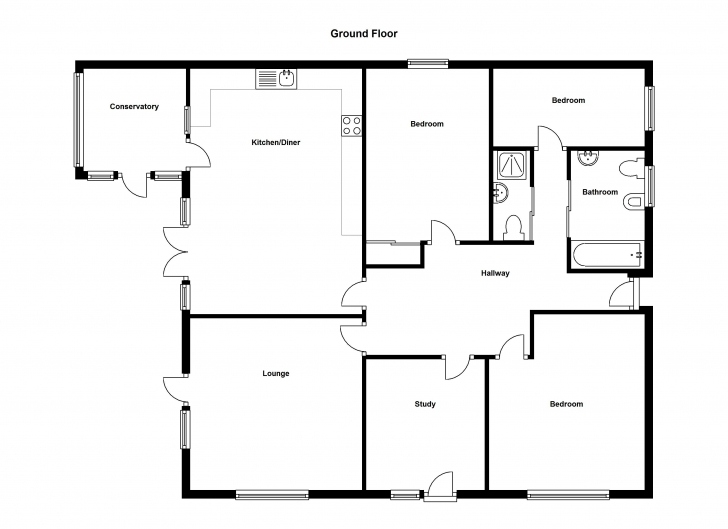 Top Photo of Simple Four Bedroom Flat Bungalow Search Results Small Woodworking Four Bedroom Bungalow House Plan Image