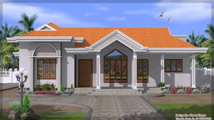 Top Single Story House Design In India - Youtube Single Storey Indian House Designs Picture