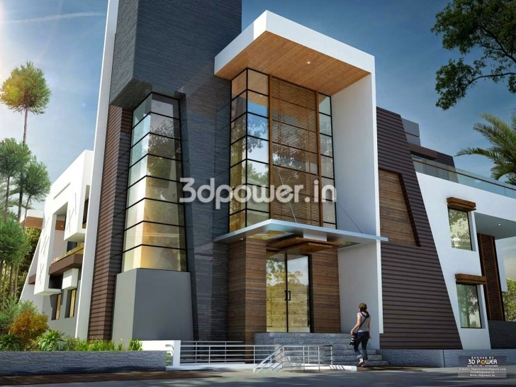 Top Ultra Modern Home Designs | Home Designs: Home Exterior Design Best Elevations Of Buildings Photo