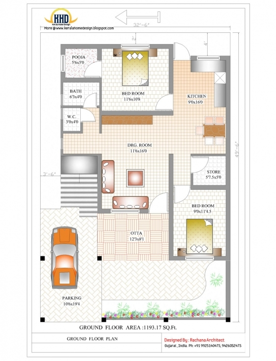 Wonderful 2 Bedroom House Designs In India Simple House Plan With 2 Bedrooms In India Pic