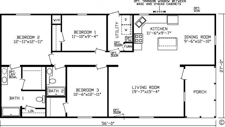 Wonderful 20 X 60 Homes Floor Plans - Google Search | Small House Plans 20 X 60 House Plans South Facing Image