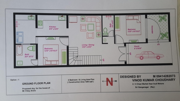 Wonderful 20 X 60 House Plans | In-Law Suite | Pinterest | House, Town House 20 60 House Plan 3d Pic